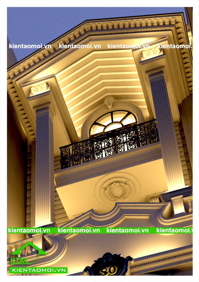 1037 Mẫu nhà phố cổ điển Châu Âu