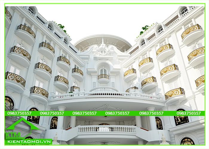Thiết kế khách sạn đà lạt