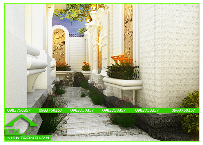 Thiết kế Góc sân vườn mini KTM Đà Lạt, Bảo Lộc